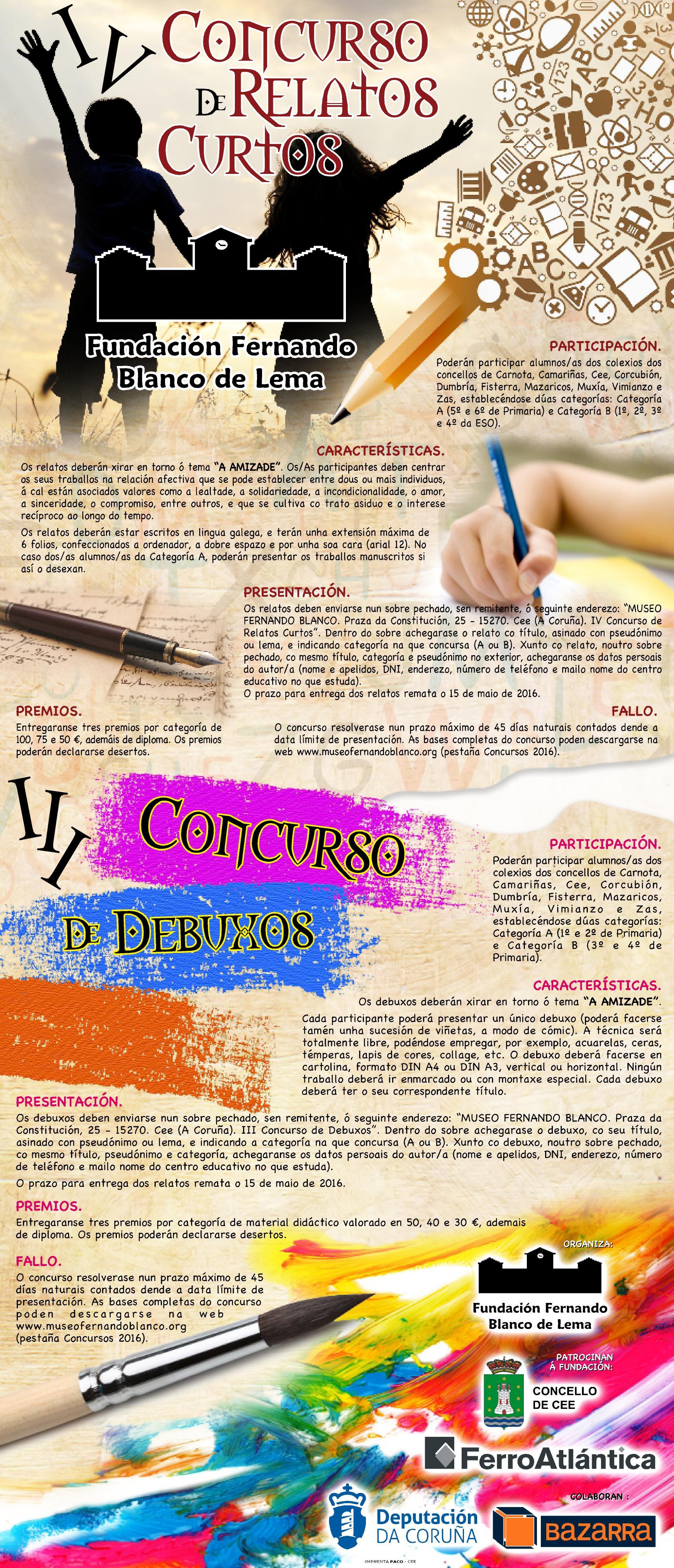 III CONCURSO DEBUXOS - IV CONCURSO RELATOS