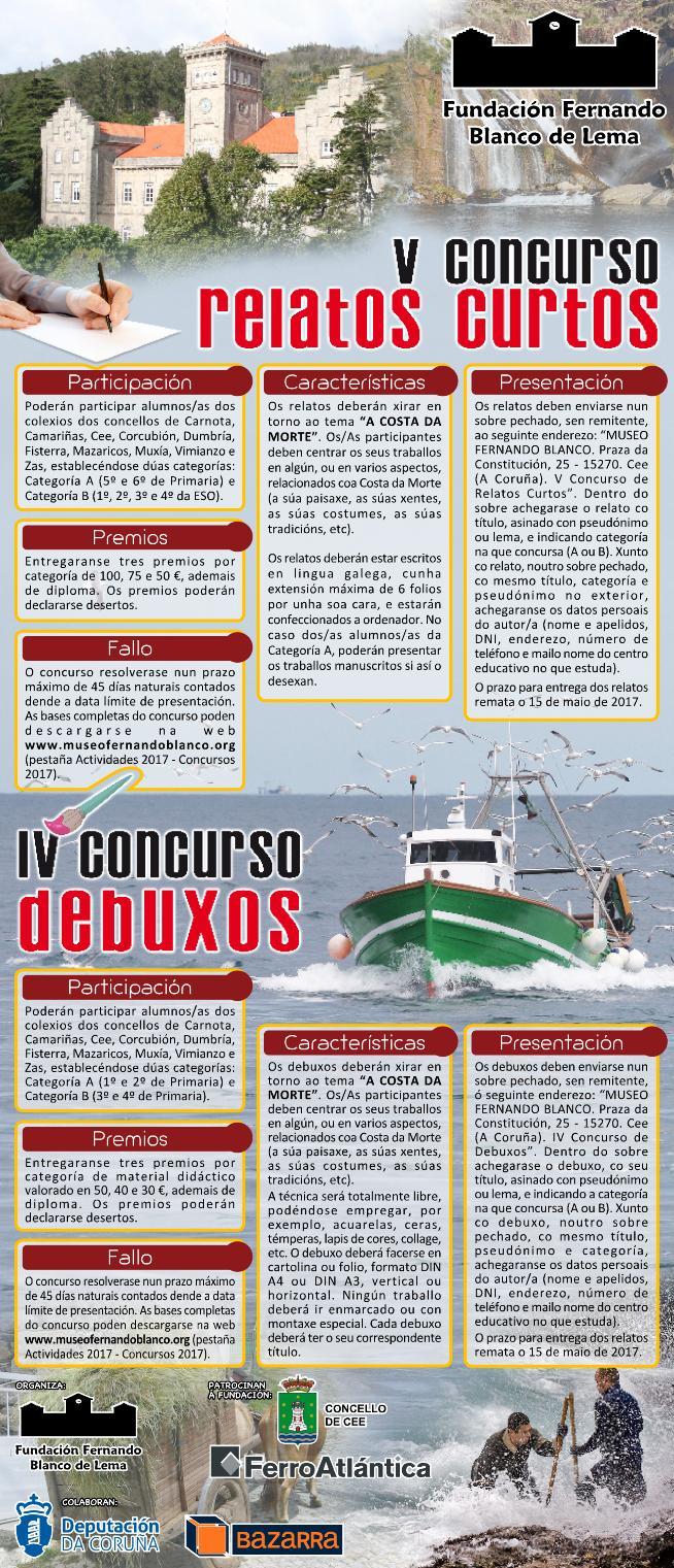 IV CONCURSO DEBUXOS - V CONCURSO RELATOS