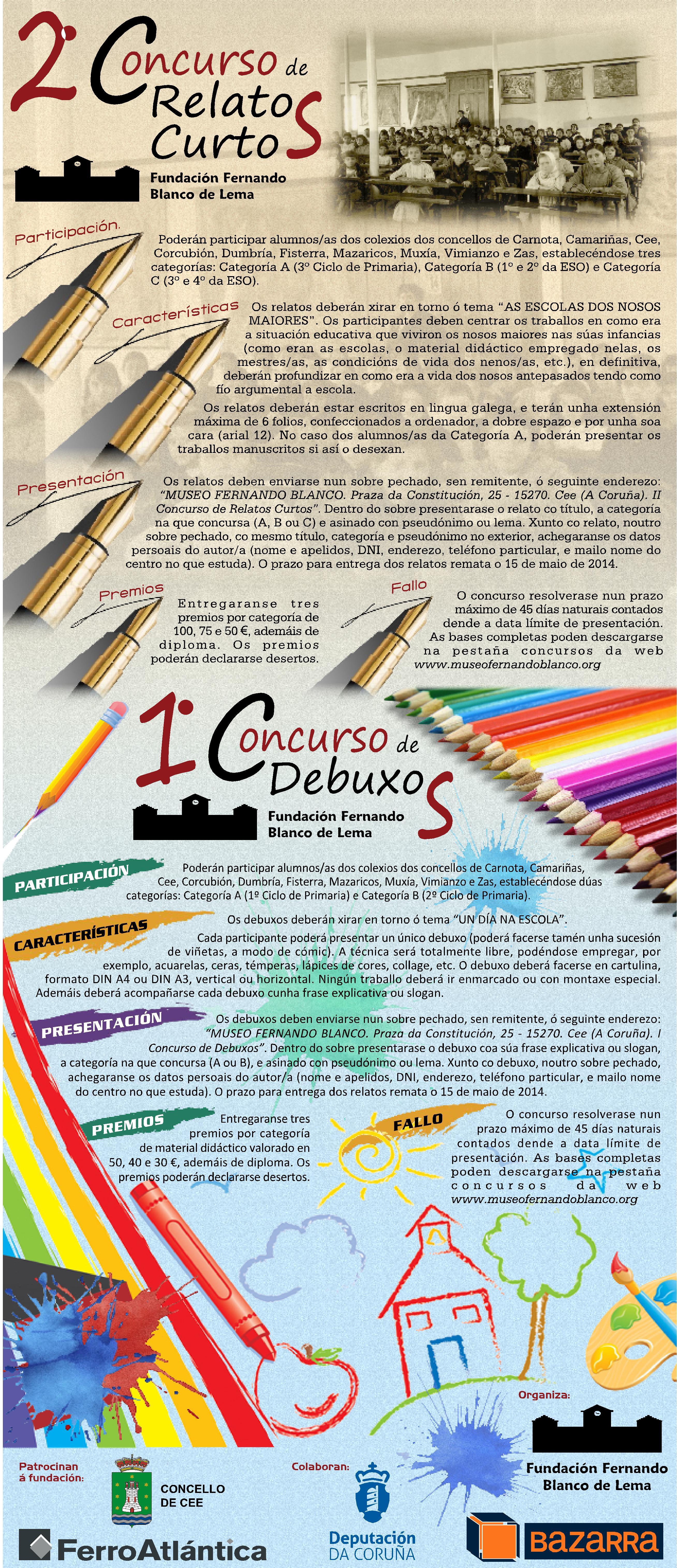I CONCURSO DEBUXOS - II CONCURSO RELATOS