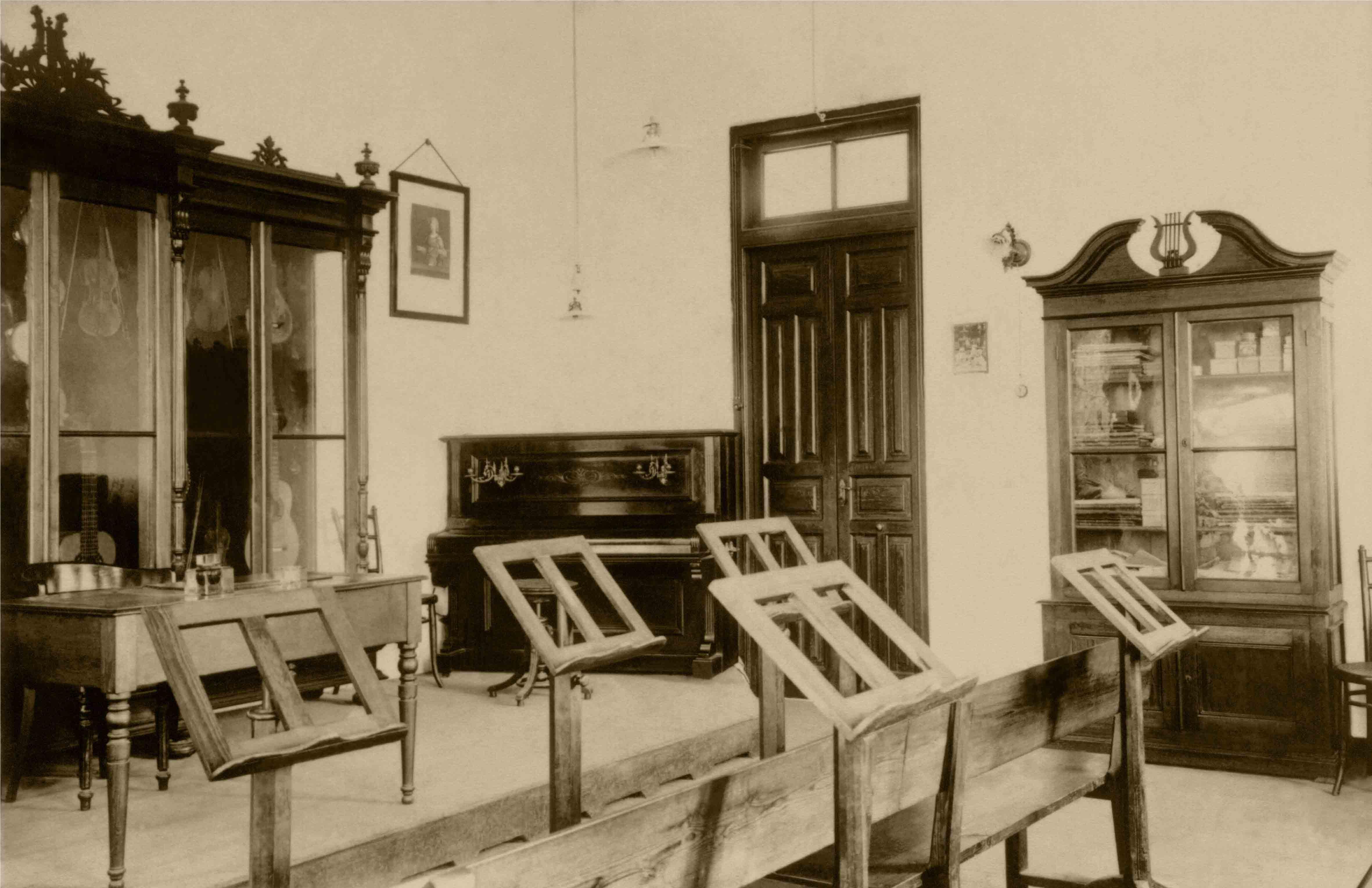 Aula de Música. 1917