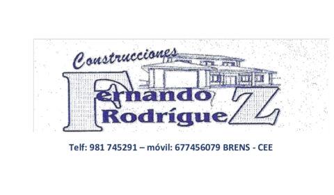 CONSTRUCCIONES FERNANDO RODRÍGUEZ