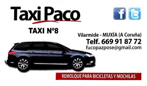 TAXI PACO - MUXÍA