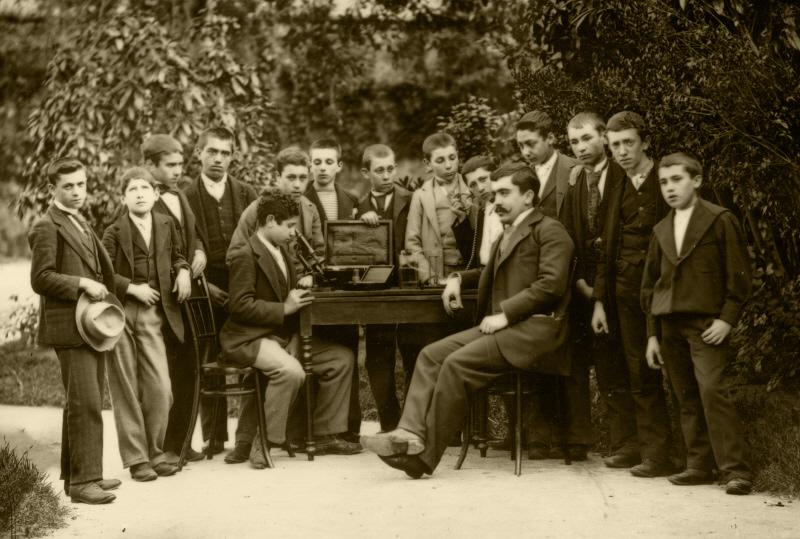 Clase de ciencias. Ca: 1891-1896