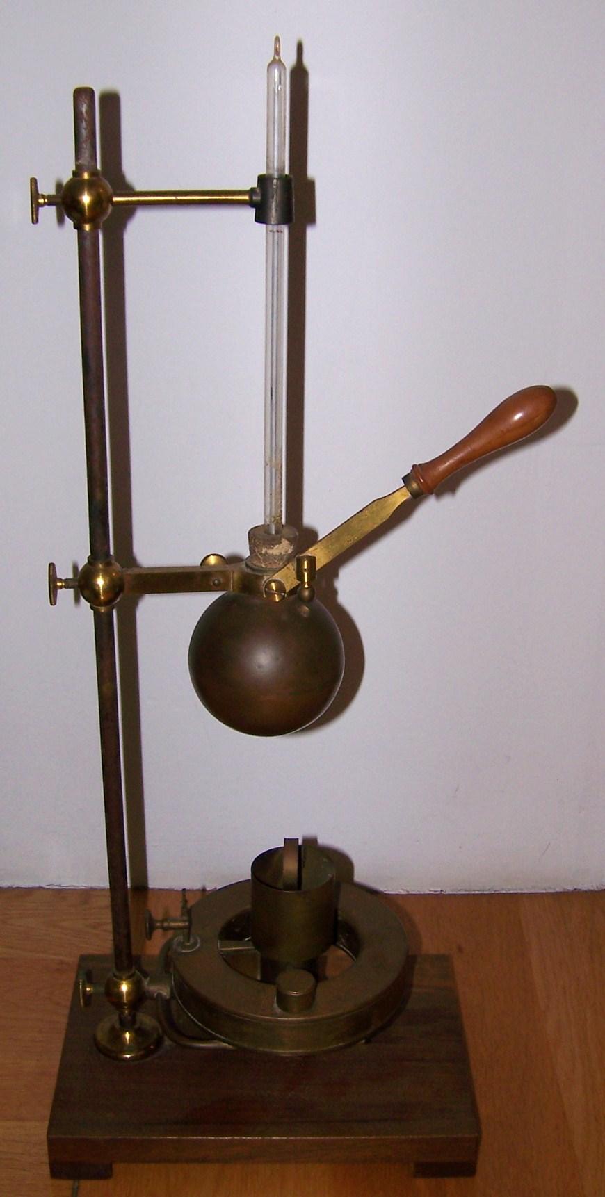 Lámpada Berzelius / Lámpara de Berzelius
