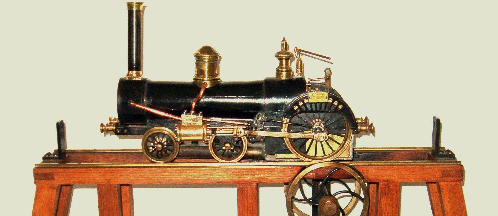 Locomotora sistema Crampton